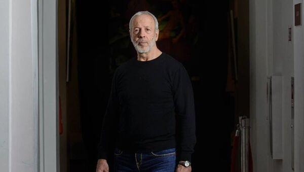 Известный художник, искусствовед, член Союза художников России Александр Таиров - Sputnik Грузия