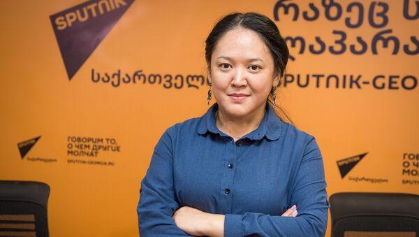 Журналист из Казахстана приехала в Грузию ради проекта SputnikPro - Sputnik Грузия