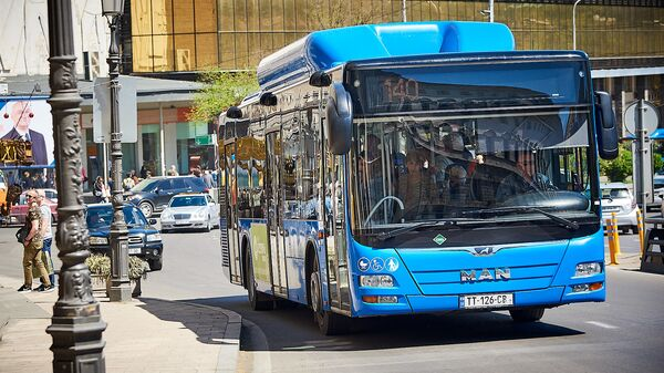 ლურჯი ავტობუსი  - Sputnik საქართველო