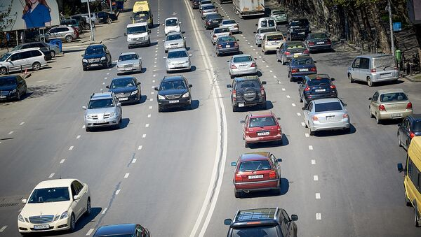 ავტომობილები თბილისში - Sputnik საქართველო