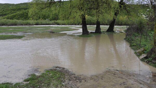 Наводнение в Тианети - Sputnik Грузия