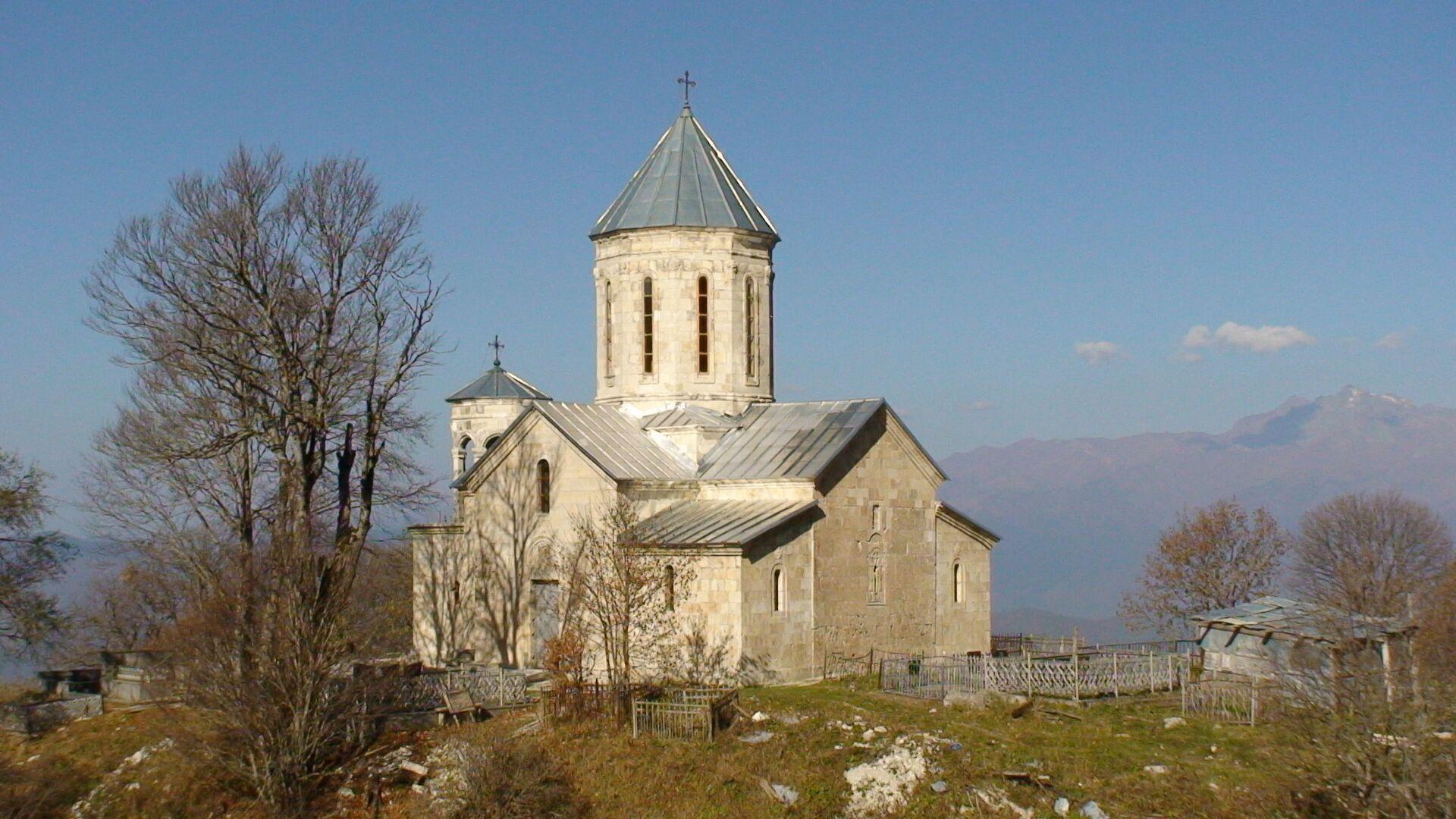 წმინდა გიორგის სახელობის ეკლესია მრავალძალში - Sputnik საქართველო, 1920, 12.10.2021