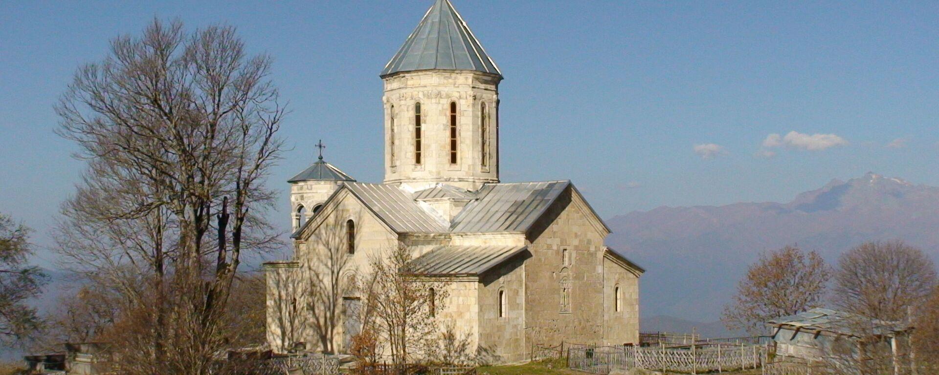 წმინდა გიორგის სახელობის ეკლესია მრავალძალში - Sputnik საქართველო, 1920, 18.07.2021