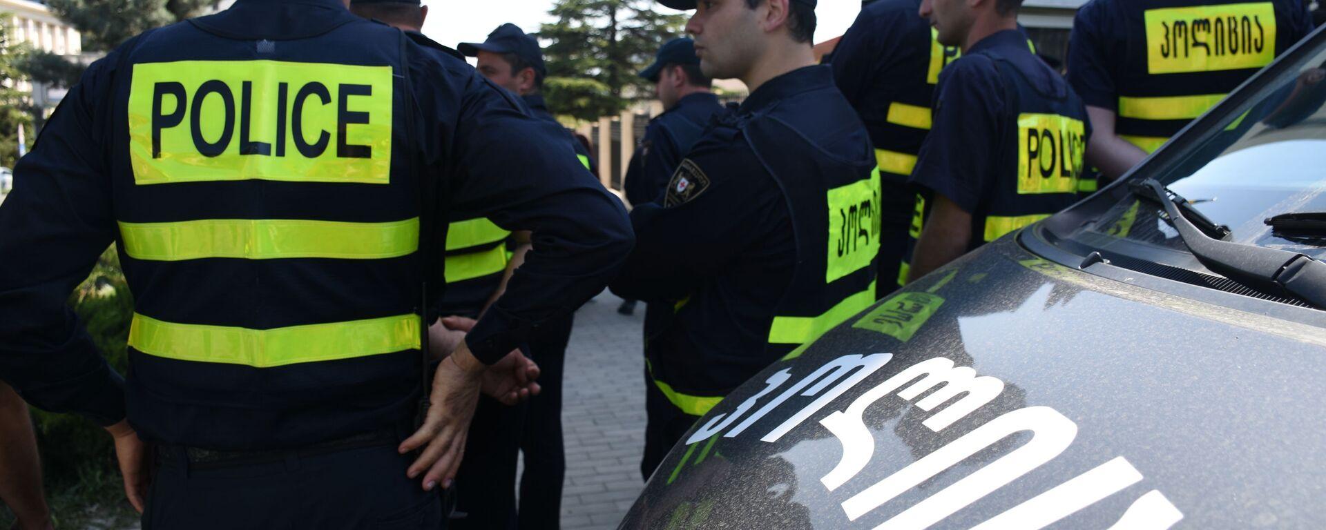 პოლიციელები - Sputnik საქართველო, 1920, 01.09.2021