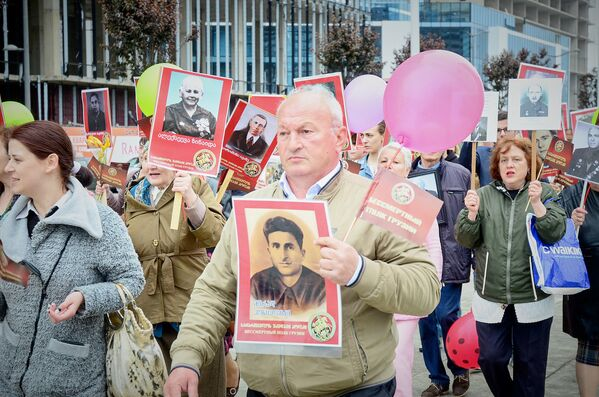 В центре Батуми в настоящее время нет отдельного монумента или памятника, посвященного Великой Отечественной войне или памяти погибших в годы Второй мировой войны - Sputnik Грузия
