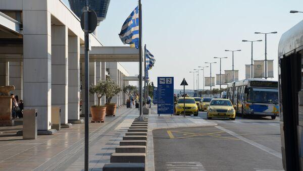 Международный аэропорт в Афинах  - Sputnik Грузия