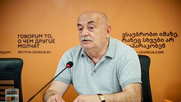 Нико Кварацхелия. Видеомост в Мультимедийном пресс-центре Sputnik - Sputnik Грузия
