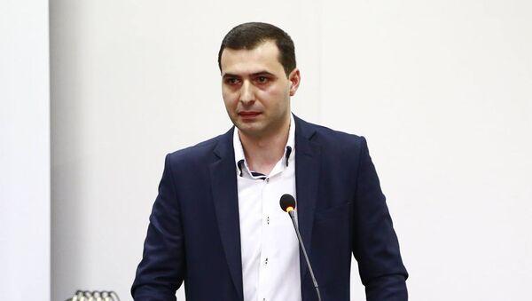 Глава департамента инспектирования условий труда Минздрава Грузии Бека Перадзе - Sputnik Грузия