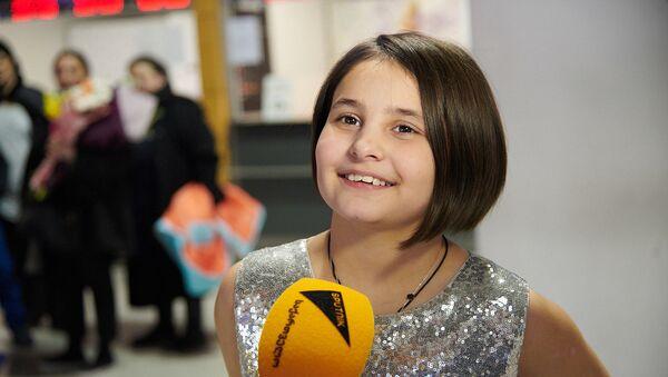 Участница проекта Ты супер! Текла Экаладзе. Возвращение домой после участия в телевизионном шоу - Sputnik Грузия