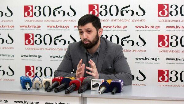 Вице-президент Ассоциации молодых финансистов и банкиров Паата Баирахтари - Sputnik Грузия