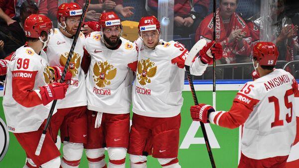 Хоккей. Чемпионат мира. Матч Латвия - Россия - Sputnik Грузия