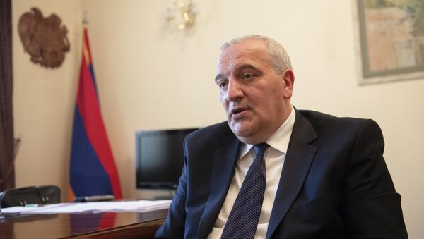 Рубен Садоян - Чрезвычайный и полномочный посол Республики Армения в Грузии  - Sputnik Грузия