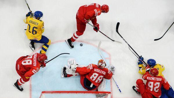 Хоккей. Чемпионат мира. Матч Швеция - Россия - Sputnik Грузия
