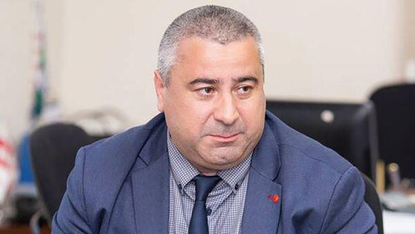 Директор лаборатории Минсельхоза Грузии Ираклий Гуледани - Sputnik Грузия