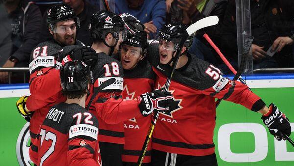 Хоккей. Чемпионат мира. Матч Канада - Чехия - Sputnik Грузия