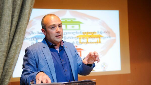Президент Бизнес-ассоциации дистрибьюторов Грузии Ива Чкония - Sputnik Грузия