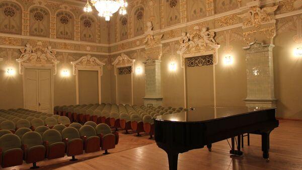Малый зал Тбилисской консерватории - Sputnik Грузия
