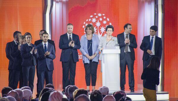 """""""ერთიანი საქართველო - დემოკრატიული მოძრაობა"""". პარტიის ყრილობა - Sputnik საქართველო"""