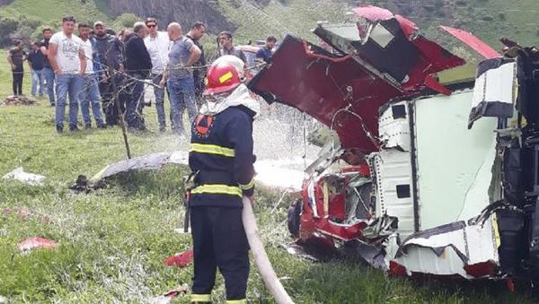 Крушение вертолета в Казбеги - Sputnik Грузия