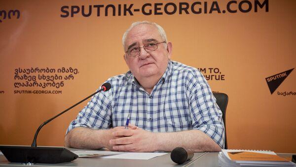 Тато Ласхишвили. SputnikPro в столице Грузии - встреча с медиа менеджерами, редакторами и блогерами - Sputnik Грузия