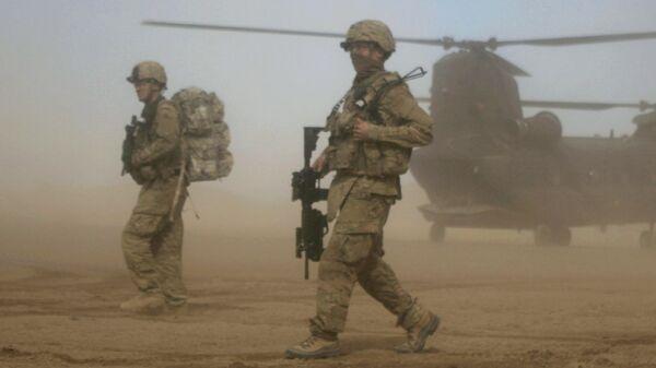 Военнослужащие США в Афганистане, архивное фото - Sputnik Грузия