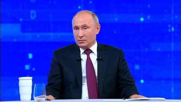 Путин об отношении Запада к России - Sputnik Грузия