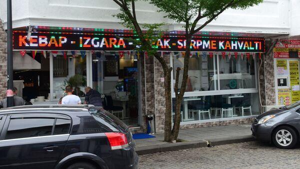 Турецкие магазины, кафе и рестораны в столице Аджарии - Sputnik Грузия