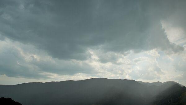 ღრუბლიანი ცა მთაში - Sputnik საქართველო