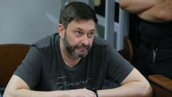 Заседание суда по делу журналиста К. Вышинского - Sputnik Грузия