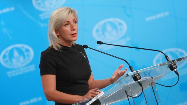 Брифинг официального представителя МИД России. Мария Захарова - Sputnik Грузия
