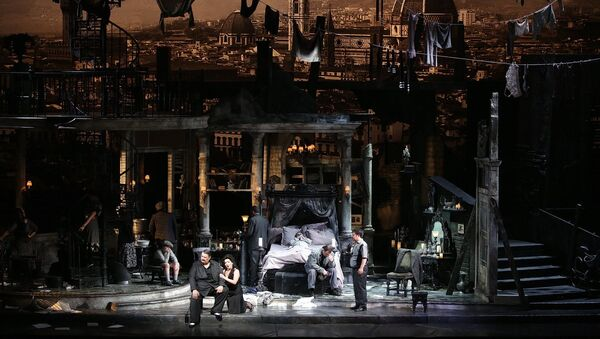 Опера Джанни Скикки режиссера Вуди Алена на сцене Ла Скала - Sputnik Грузия