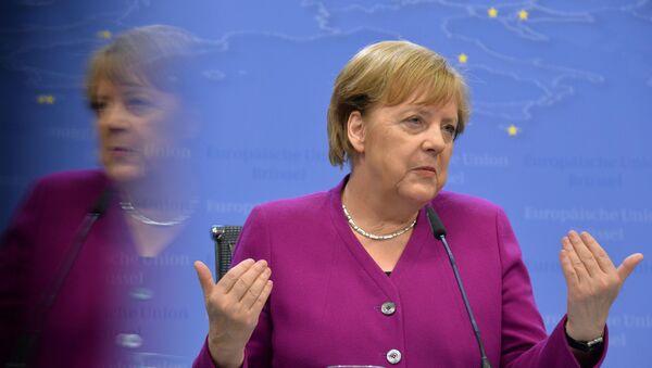 Федеральный канцлер Германии Ангела Меркель - Sputnik Грузия