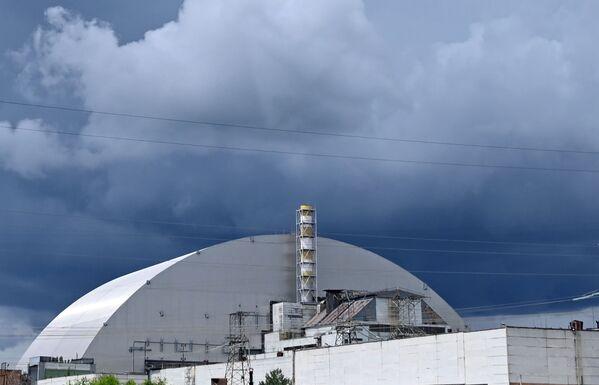 ჩერნობილში ატომური სადგურისთვის ახალი სარკოფაგი დამონტაჟდა - Sputnik საქართველო
