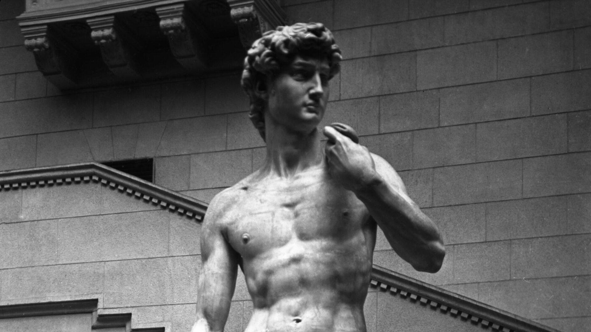 скульптура Давида работы Микеланджело Буонарроти - Sputnik Грузия, 1920, 06.09.2021