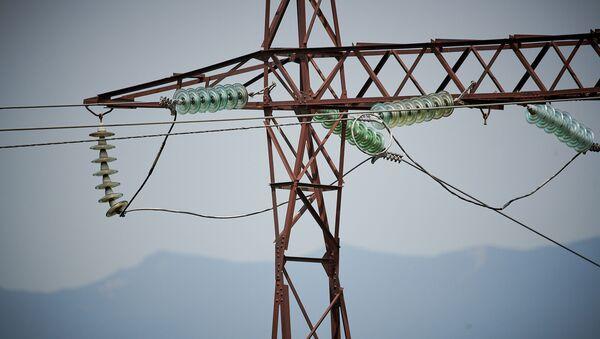 ЛЭП. Высоковольтная линия электропередач - Sputnik Грузия