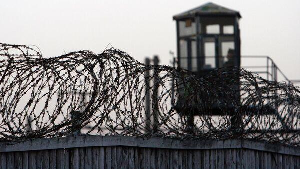 Охранный периметр тюрьмы, архивное фото - Sputnik Грузия
