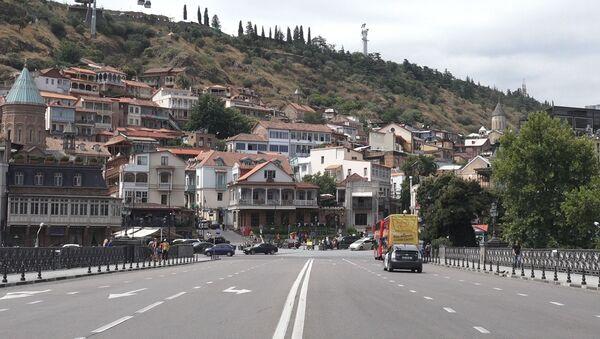 Тбилиси без российских туристов - как выглядит центр города в дневное время - Sputnik Грузия