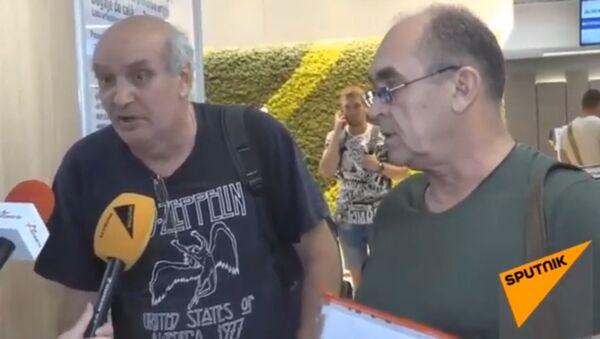 Российские моряки рассказали подробности их задержания на Украине - видео - Sputnik Грузия
