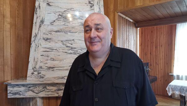 Давид Тархан-Моурави на митинге в поддержку отношений с Россией в Батуми - Sputnik Грузия