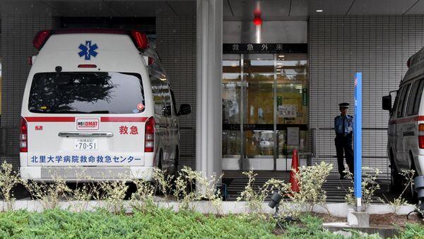 Машина скорой помощи в Японии - Sputnik Грузия