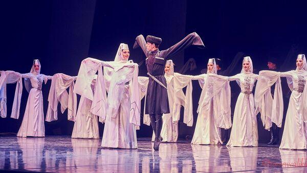 Выступление Национального грузинского балета Сухишвили на Международном фестивале балета в Бодруме - Sputnik Грузия