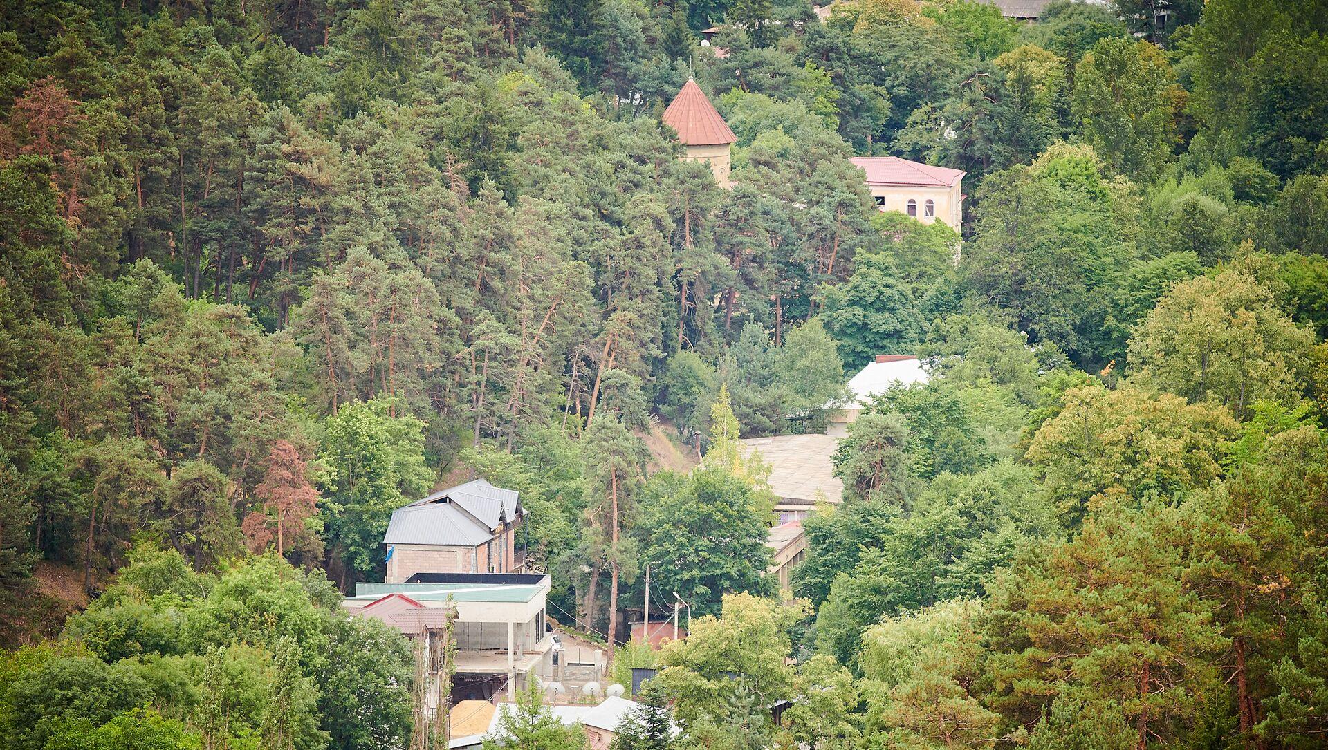 Курортный поселок Абастумани в Адигенском районе - Sputnik Грузия, 1920, 06.06.2021