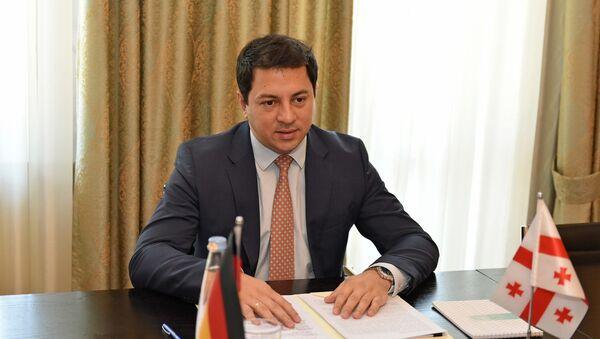 Председатель парламента Грузии Арчил Талаквадзе - Sputnik საქართველო