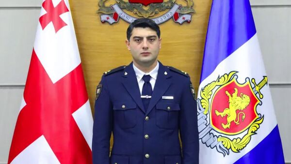 Важа Сирадзе, глава патрульной полиции - Sputnik Грузия