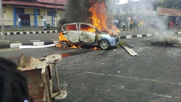 Протесты в Индонезии - фото - Sputnik Грузия