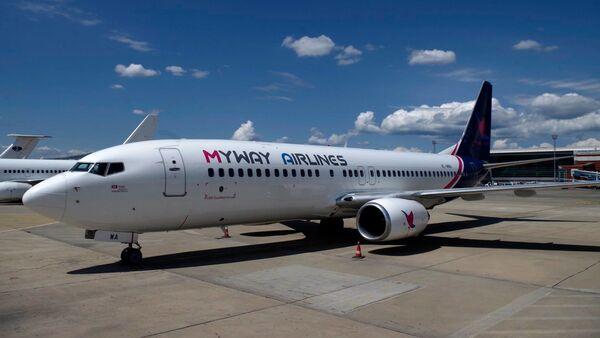 Самолет грузинской авиакомпании MyWay Airlines - Sputnik Грузия