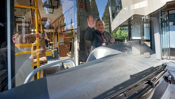 Пассажирский автобус МАЗ - Sputnik Грузия