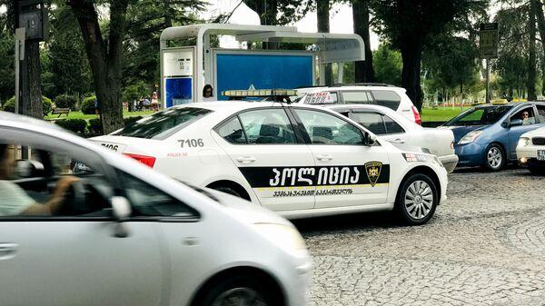 Машина патрульной полиции в городе Батуми - Sputnik Грузия