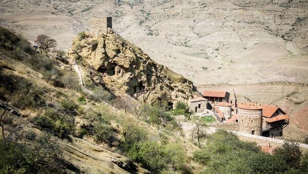 Монастырский комплекс Давид Гареджи - Sputnik Грузия