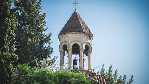 Празднование Мариамоба в храме Сиони - Sputnik Грузия